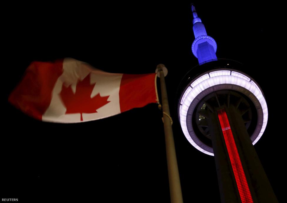 CN-torony, Toronto, Kanada