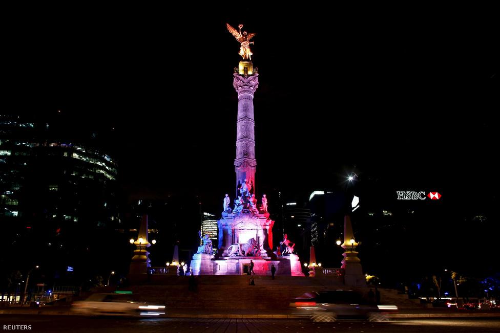 A függetlenség angyala, Mexikóváros, Mexikó