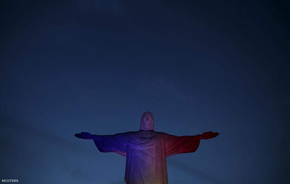 Jézus-szobor, Rio de Janiero, Brazíli