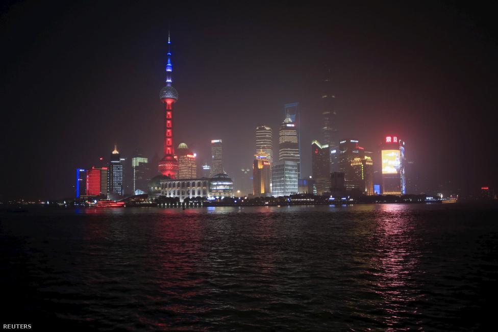 Shanghaj, Kína