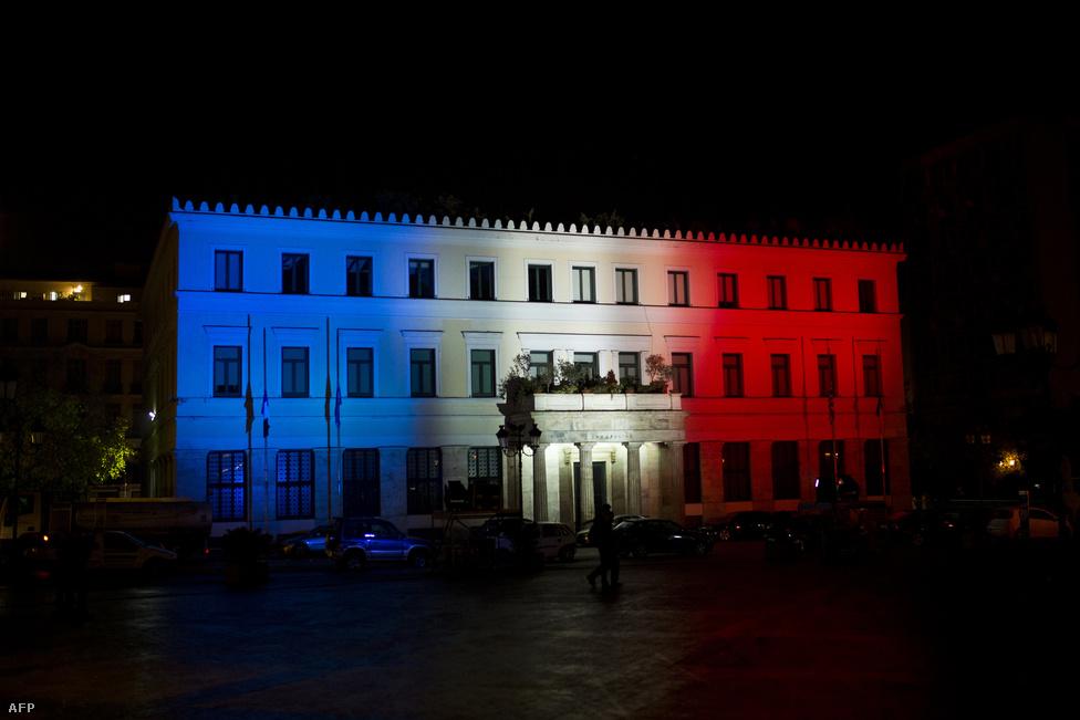 Városháza, Athén, Görögország