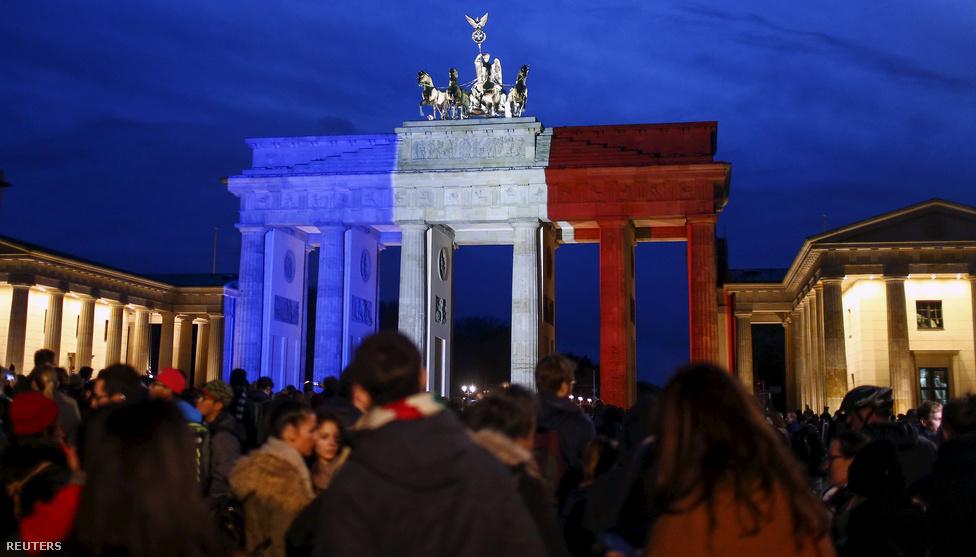 Brandenburgi kapu, Berlin, Németország