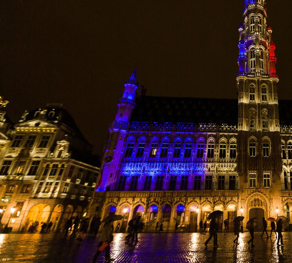 Városháza, Brüsszel, Belgium