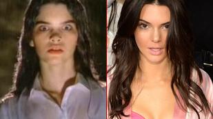 Kendall Jenner a születése előtt 11 évvel már úgy nézett ki, mint most