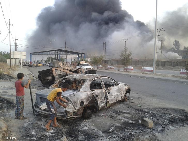 Az Iszlám Állam iraki központja, Moszul.