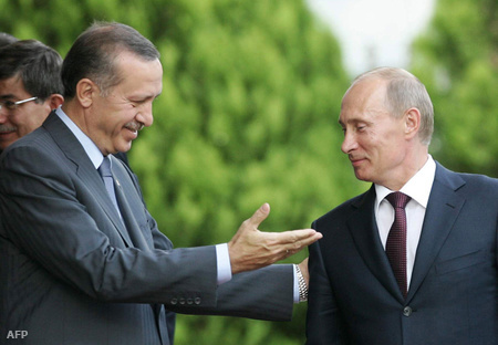 Erdogan és Putyin
