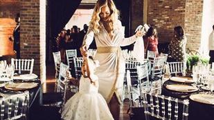Cukiság: Beyoncé a kislányával táncol
