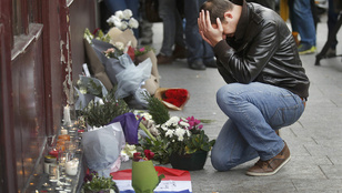 Gyermeket vár az a nő, akinek férjét megölték Párizsban