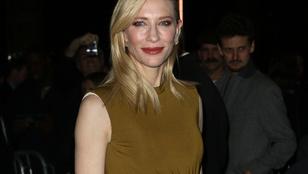Cate Blanchett alig látszódik ebben a ruhában