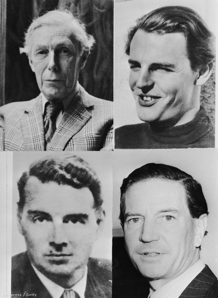 A cambridge-i ötök. Anthony Blunt, Donald Duart Maclean, Kim Philby, Guy Burgess