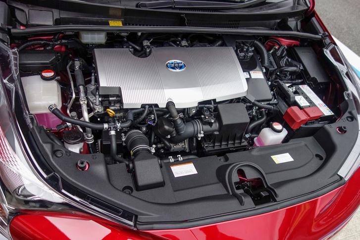 40 százalék fölötti termikus hatásfok a 98 lóerős, Atkinson-rendszerű motorból