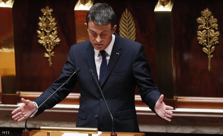 Manuel Valls francia miniszterelnök.
