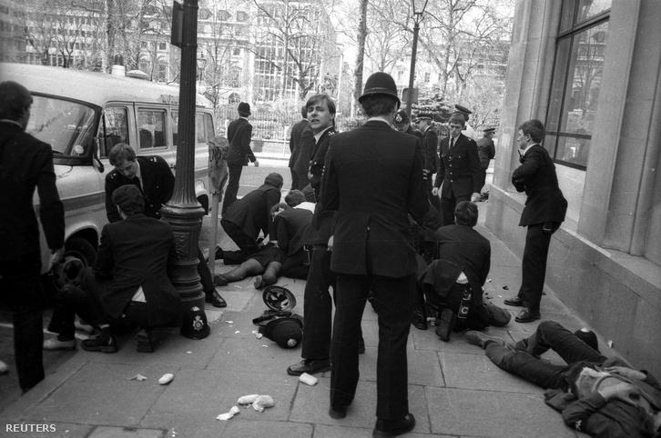 A gyilkosság helyszíne 1984. április 17-én