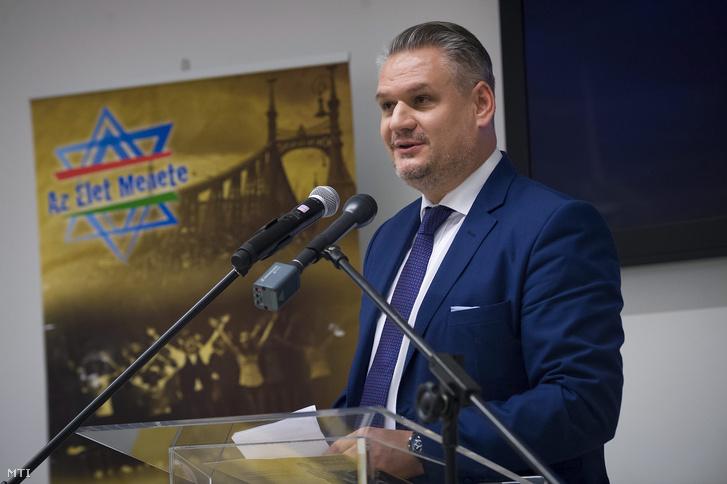 Takács Szabolcs a Miniszterelnökség európai uniós ügyekért felelős államtitkára