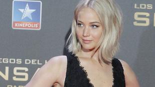 Jennifer Lawrence alaposan berúgott nemrég, élete első szexjelenete előtt