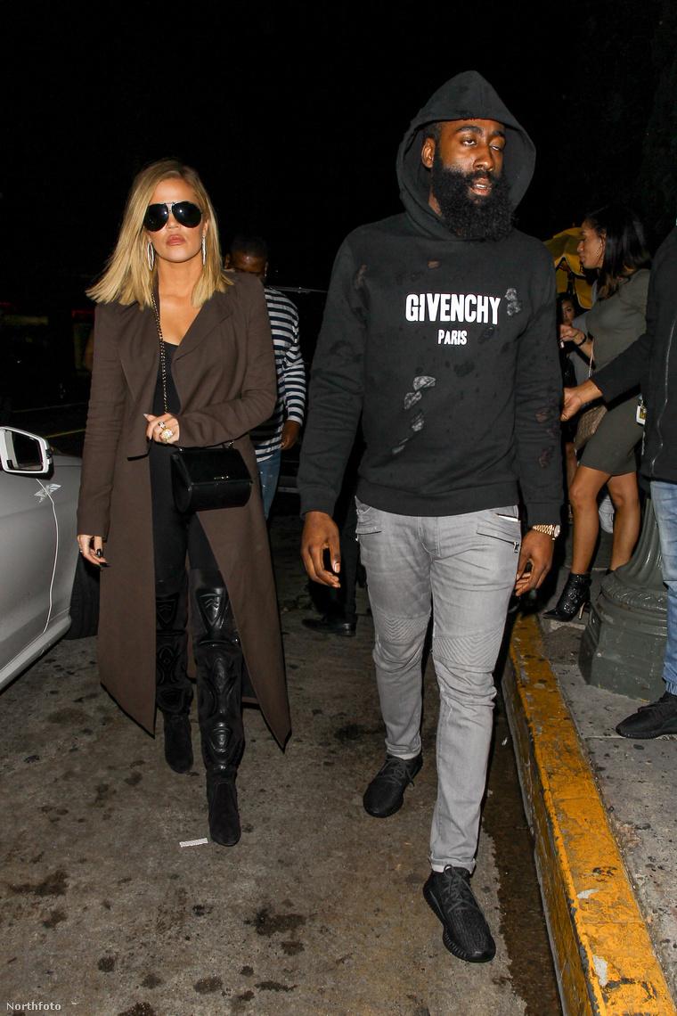 Khloe Kardashian és James Harden