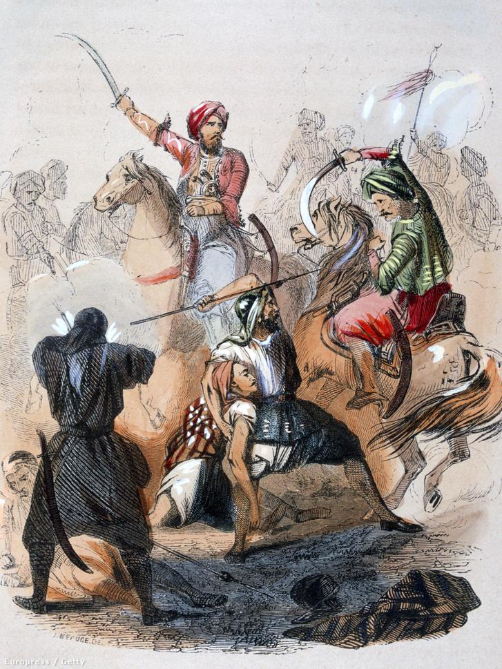 Ibrahim pasa és a vahabiták harca