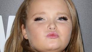 Hát, így néz ki Honey Boo Boo műszempillákkal