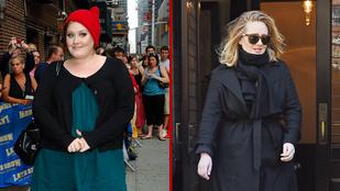 Így lett Adele tíz év alatt duci manóból jó nő