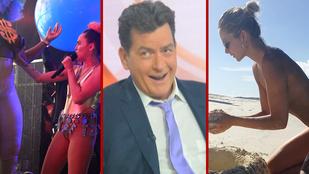 Charlie Sheen diagnózisáról és Miley Cyrus durvulásáról szólt ez a hét
