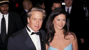 Tudja, milyen régen ment hozzá Catherine Zeta-Jones Michael Douglashez?