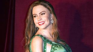 Sofia Vergara mellei véreznek a vörös szőnyegen