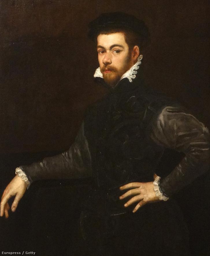 Tintoretto férfi portréja