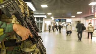 Terrorfenyegetettség miatt állt le a brüsszeli metró