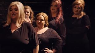 Adele saját maga hasonmása volt