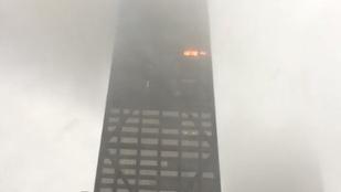 Tűz volt egy százemeletes chicagói felhőkarcolóban