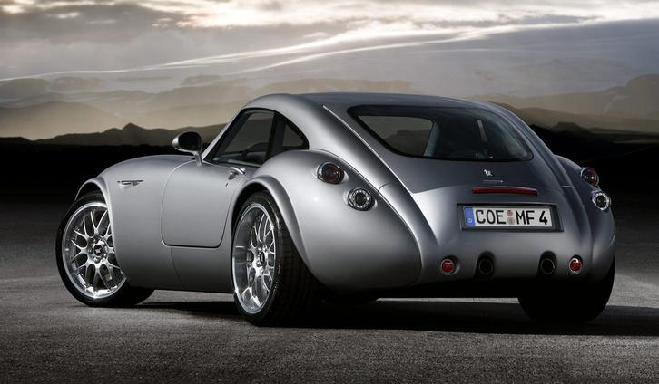 A Wiesmann tavaly még gyártott aktuális modellje, a GT MF 4