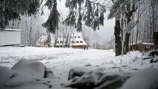 Öltözzön fel rendesen, akár 10 centi hó is hullhat