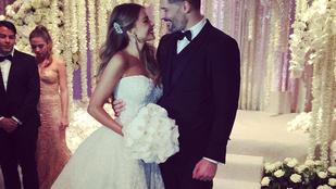 Sofía Vergara esküvőjéhez hasonlót még tényleg nem láttunk