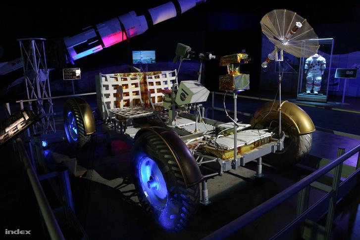 Az egyik Holdjáró, ezt kiképzésre használták az űrhajósok