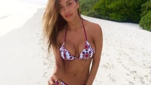 Hiányoznak a bikinis hírességek? Nicole Scherzinger majd segít!