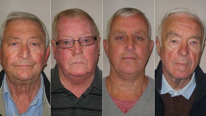 Terry Perkins, John Collins, Daniel Jones és Brian Reader
