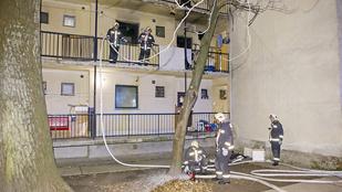 Lakástűzben halt meg egy férfi a XI. kerületben