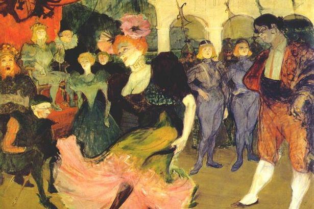 Marcelle-Lender bolerót táncol a Chilperic-ben (1895)