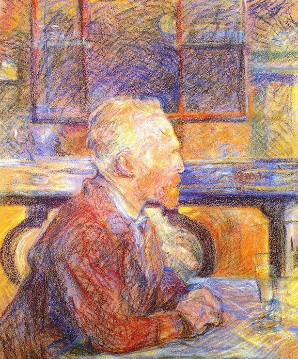Vincent-van-Gogh portréja (1887)