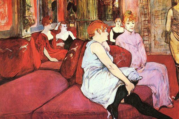 A rue des Moulins szalonjában (1894)
