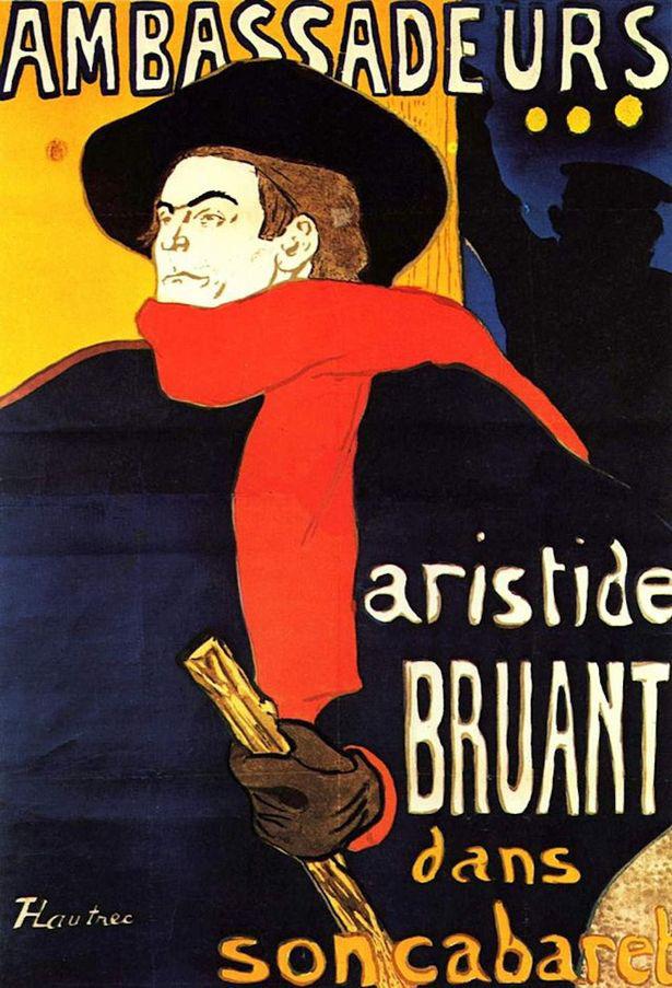 Aristide Bruant az Ambassadeurs-ben (1892)