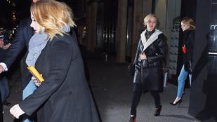 Csak egy átlagos este: Jennifer Lawrence, Emma Stone és Adele elmentek vacsorázni