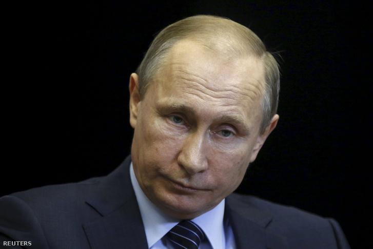 Vlagyimir Putyin a november 24-én tartott sajtótájékoztatón