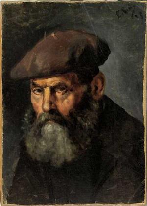 Picasso - Férfi boinával
