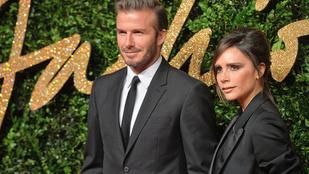 Meg kell hagyni, David Beckham nagyon jól mutat Victoria Beckham mellett