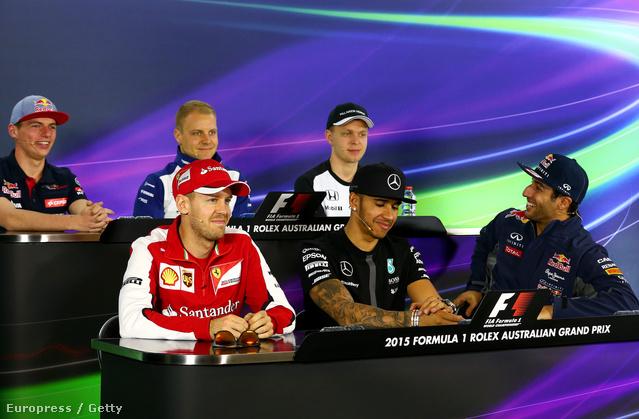 Ricciardónak már a szezon első nagydíján feltűnt