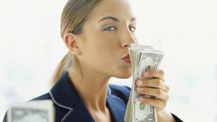 Őrület: mégis boldogít a pénz