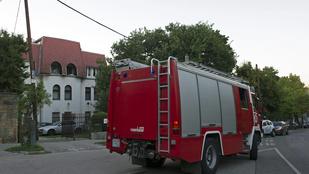 Szén-monoxid mérgezést kaphatott egy három hónapos csecsemő Budakalászon