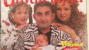 Így nézett ki a Gáspár család 13 éve