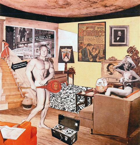 Richard Hamilton: Just what is it that makes today's homes so different, so appealing?